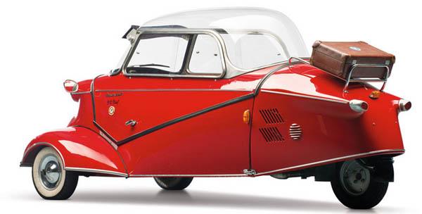 Sold Messerschmitt Kr200 3 Wheeler Microcar Auctions: Micro Cars Worth Their Weight In Gold