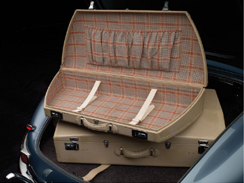 Classic automobile collecting and classic car auctions for for Mercedes benz suitcase