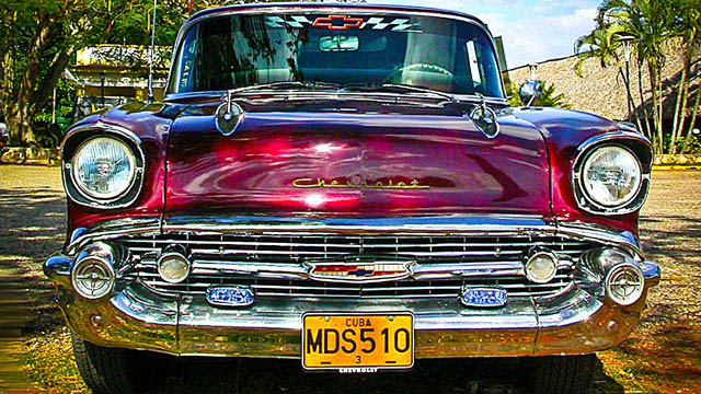 Colorful 1950 S Classic Cars Of Cuba