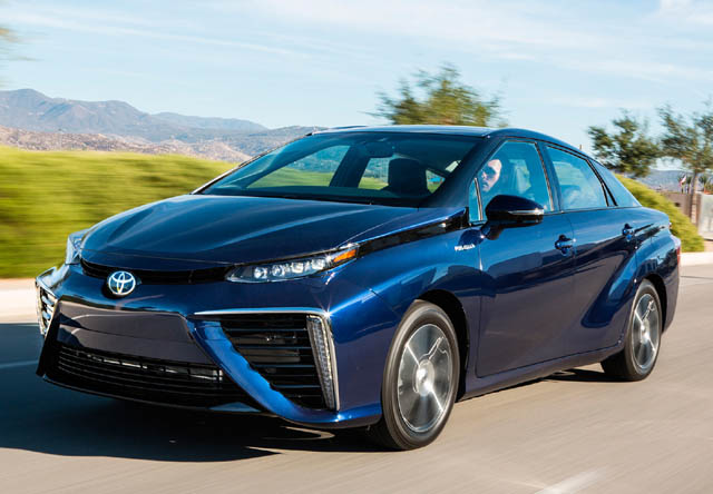 3 Hydrogen Fuel Cell Cars