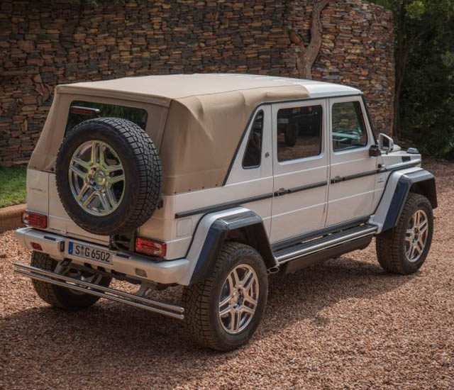 Mercedes Maybach G650 Price >> Mercedes Maybach G650 Landaulet